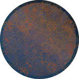 Komar Dots Ornament D1-045 Zelfklevende Behangcirkel