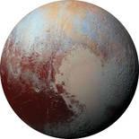 Komar Dots Pluto D1-021 Zelfklevende Behangcirkel