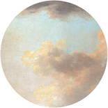 Komar Dots Relic Clouds D1-014 Zelfklevende Behangcirkel