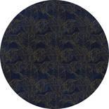 Komar Dots Royal Blue D1-058 Zelfklevende Behangcirkel