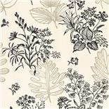 Behang Little Greene 50s Line Papers Norcombe 1949 Couture
