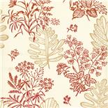 Behang Little Greene 50s Line Papers Norcombe 1949 Jazz