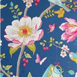 PiP III Behang Eijffinger Chinese Garden Donker Blauw 341003