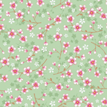 PiP II Behang Eijffinger Cherry Blossom Groen 313024