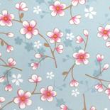 PiP II Behang Eijffinger Cherry Blossom Lichtblauw 313021