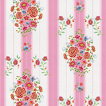 PiP Behang Eijffinger Embroidery Roze 386105