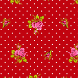 PiP Behang Eijffinger Roses and Dots Rood 386023