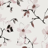Zoom by Masureel La vie en Rose LAV002 Laetitia Woodrose Behang